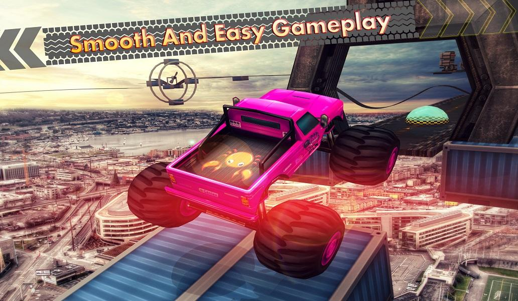 Android Extreme Car Racing Trick Stunts Impossible Tracks Screen 3