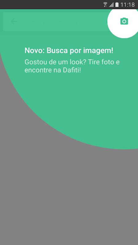 Android Dafiti - Sua smartfashion Screen 2