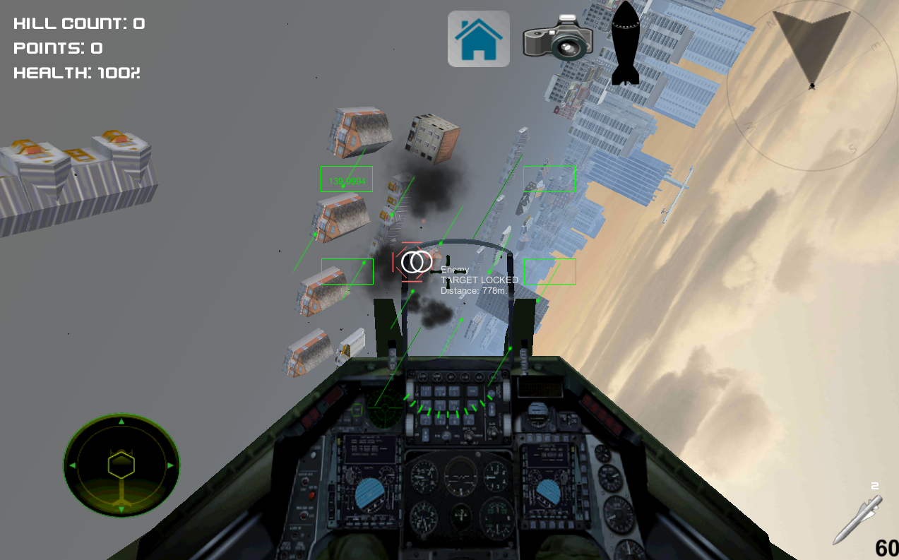 Android Air Crusader - Jet Fighter Screen 4