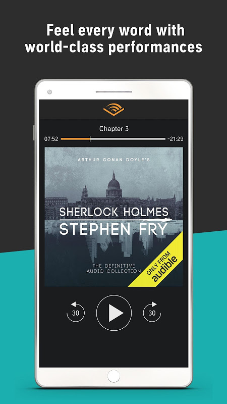 Audiobooks from Audible 2.31.1 Screen 5