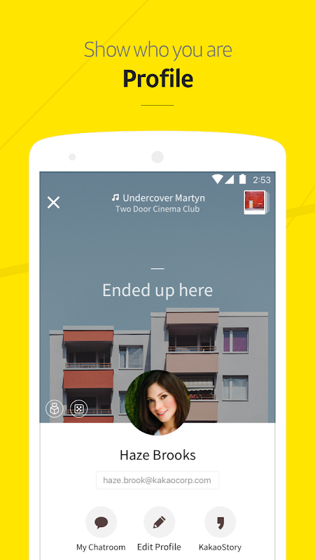 Android KakaoTalk: Free Calls & Text Screen 5