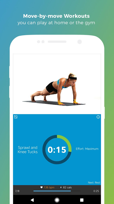 Android Workout Trainer: fitness coach Screen 9