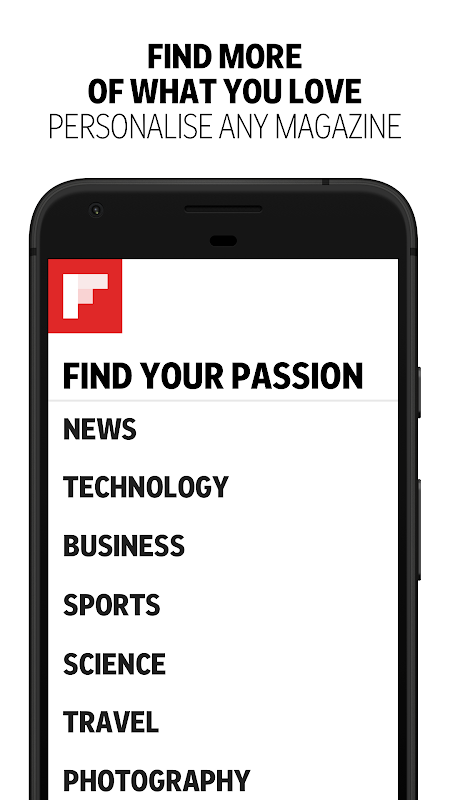 Android Flipboard: News For Any Topic Screen 3