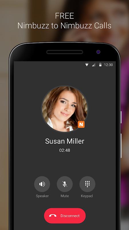 Nimbuzz Messenger / Free Calls 6.0.0 Screen 1