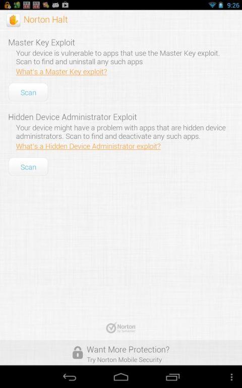 Norton Halt exploit defender 6.4.0.236 Screen 13
