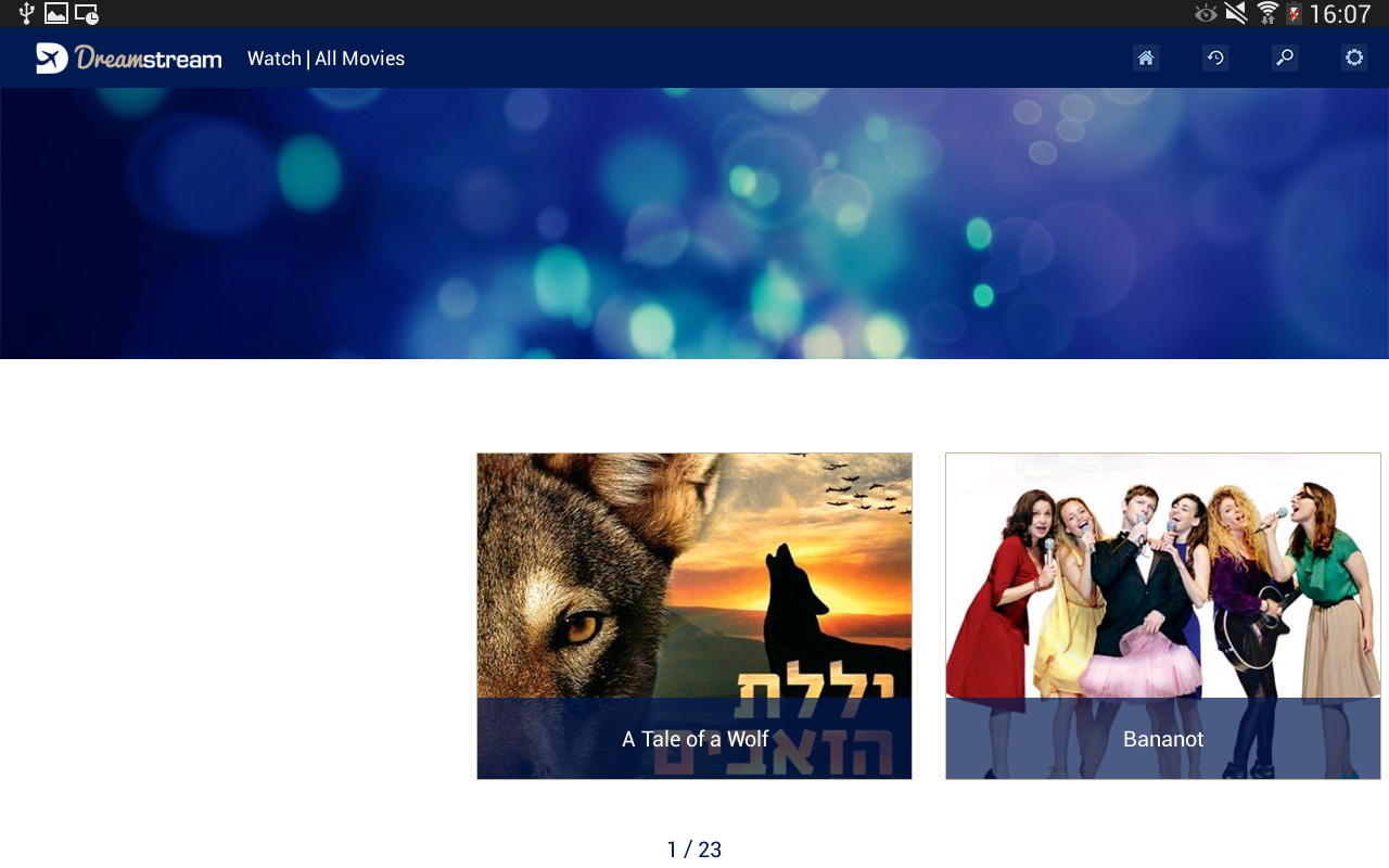 DreamStream By EL AL 3.4.20.6 / BuyDRM Labgency 4.8.22 / PED Screen 5