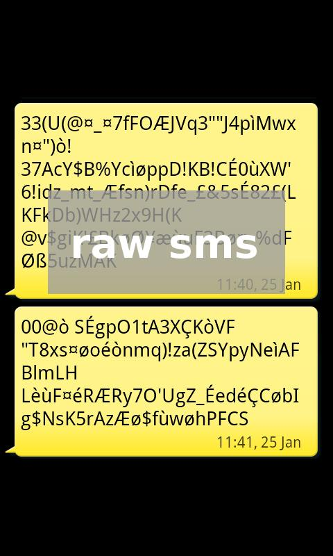 Gentian - Encrypted SMS 0.5.8 Screen 2