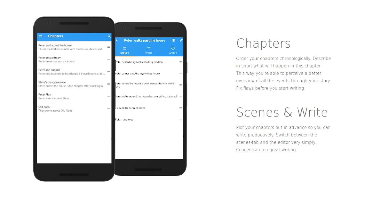 Writer Tools - Novel Planner, Tracker & Editor 2.8.1 Screen 2