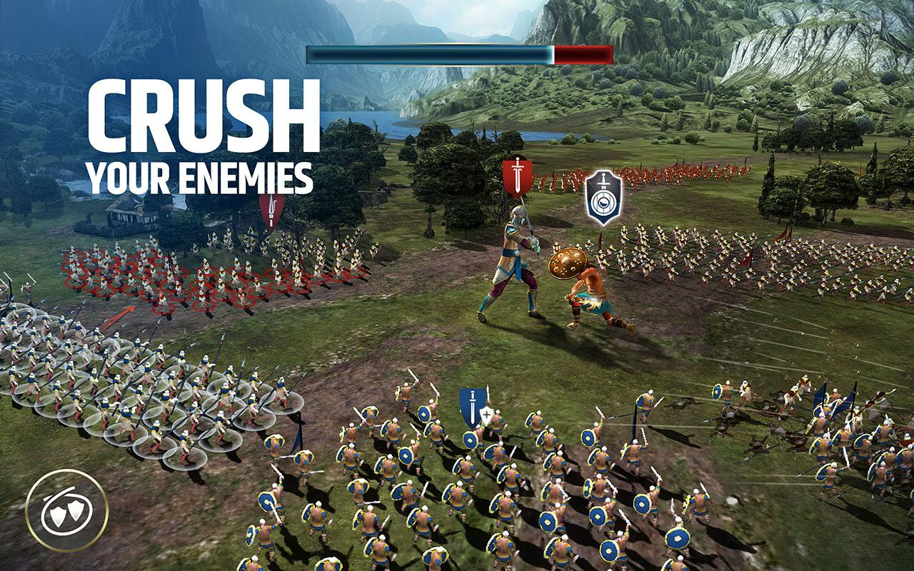 Android Dawn of Titans - Epic War Strategy Game Screen 3