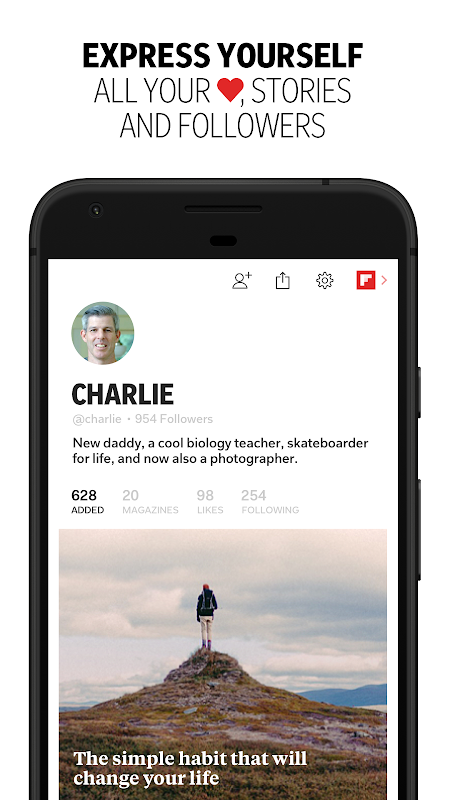 Android Flipboard: News For Any Topic Screen 4
