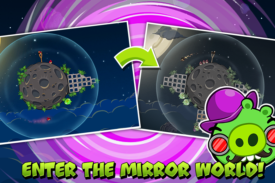 Angry Birds Space 2.2.14 Screen 1