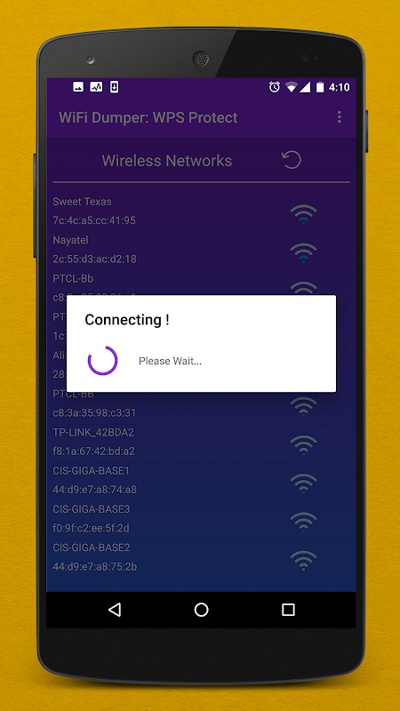 WPS WiFi Dumper PRO : WPS Routers ( WPS Connect ) 1.0.2 Screen 4
