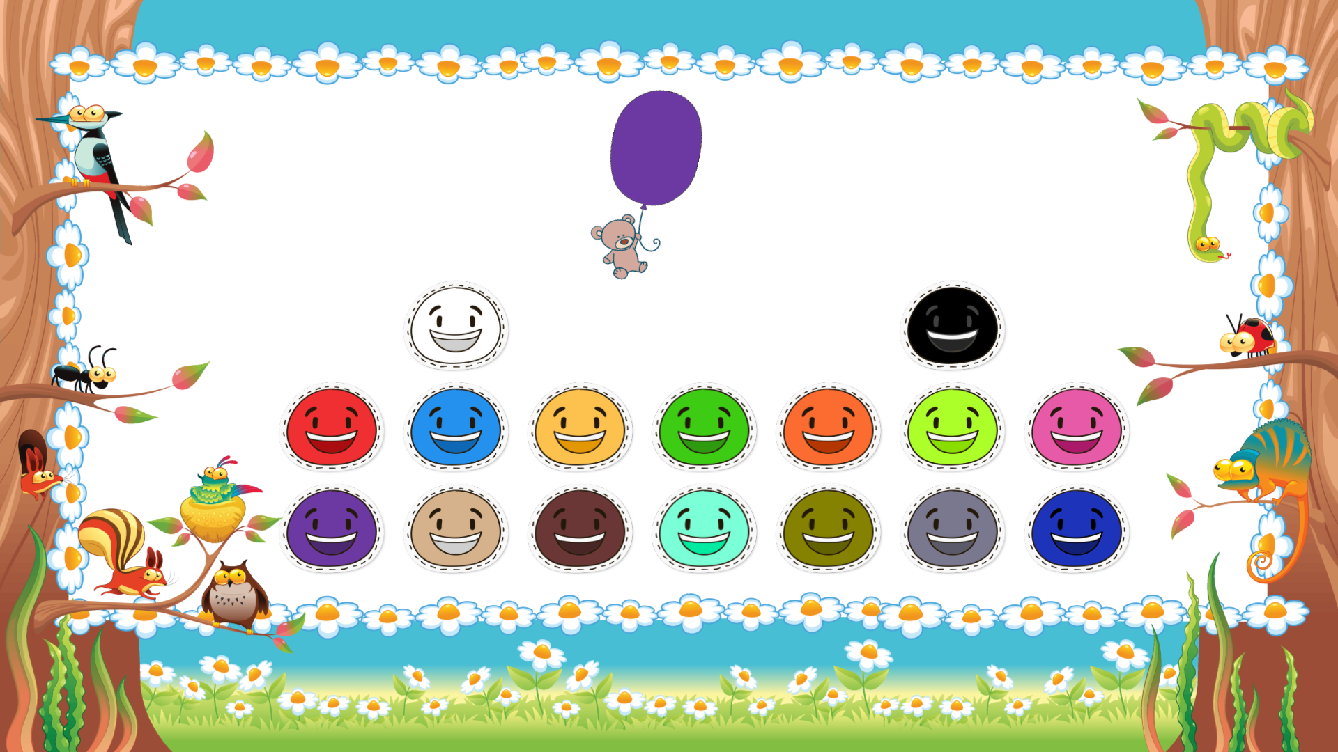 Android Toddler Colors Learning - Kids Educational Game Screen 12