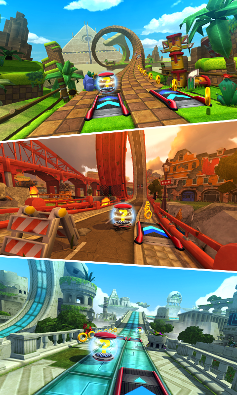 Android Sonic Forces: Speed Battle Screen 3