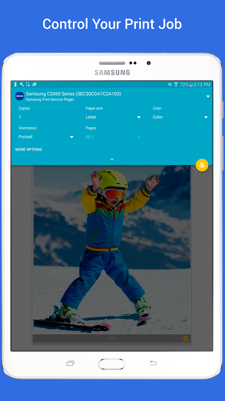 Android Samsung Print Service Plugin Screen 5