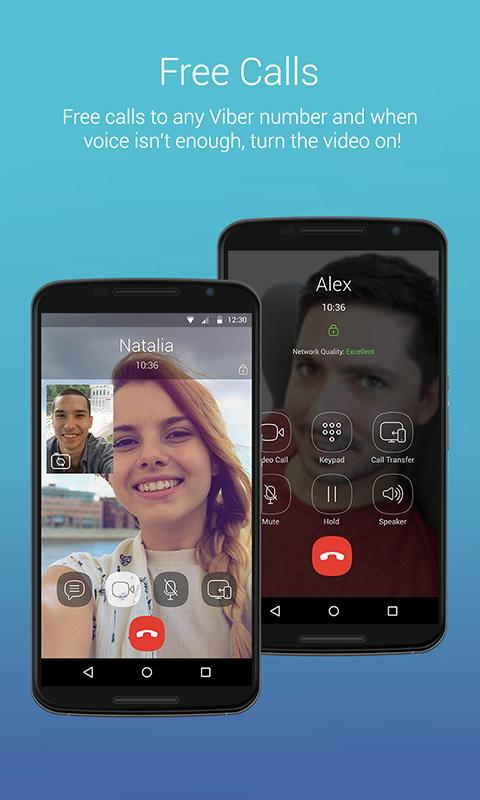 Android Viber Messenger: Text, call and make video calls Screen 7