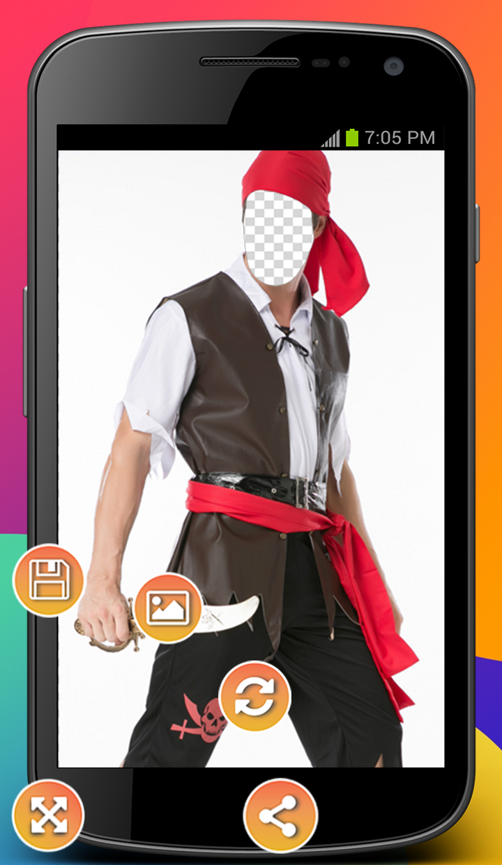 Pirate Cosplay Photo Montage 1.0 Screen 2
