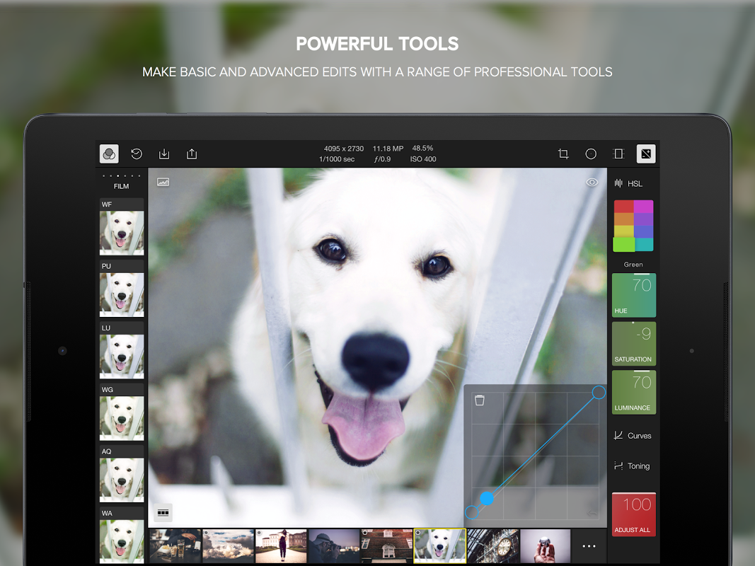 Polarr Photo Editor 2.1.2 Screen 2