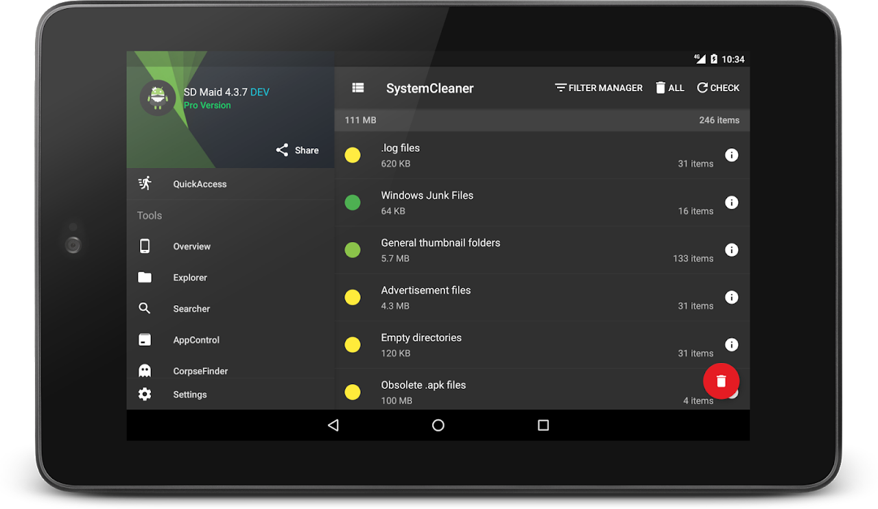 SD Maid - System Cleaning Tool 4.12.3 Screen 20