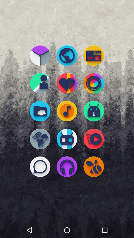 Android Almug - Icon Pack Screen 1