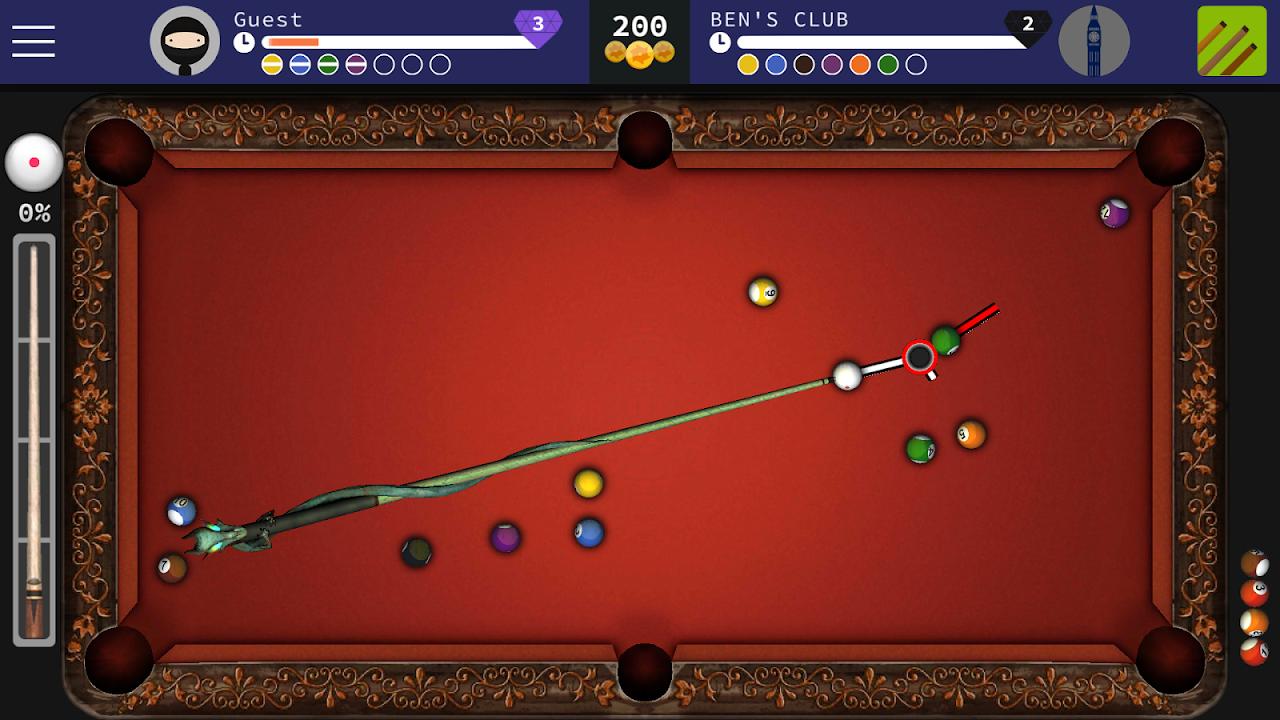 Pool Ninja : 8 ball pool 0.8.22c Screen 1