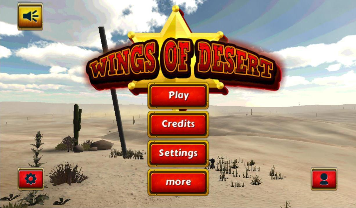 Android Wings Of Desert Screen 1