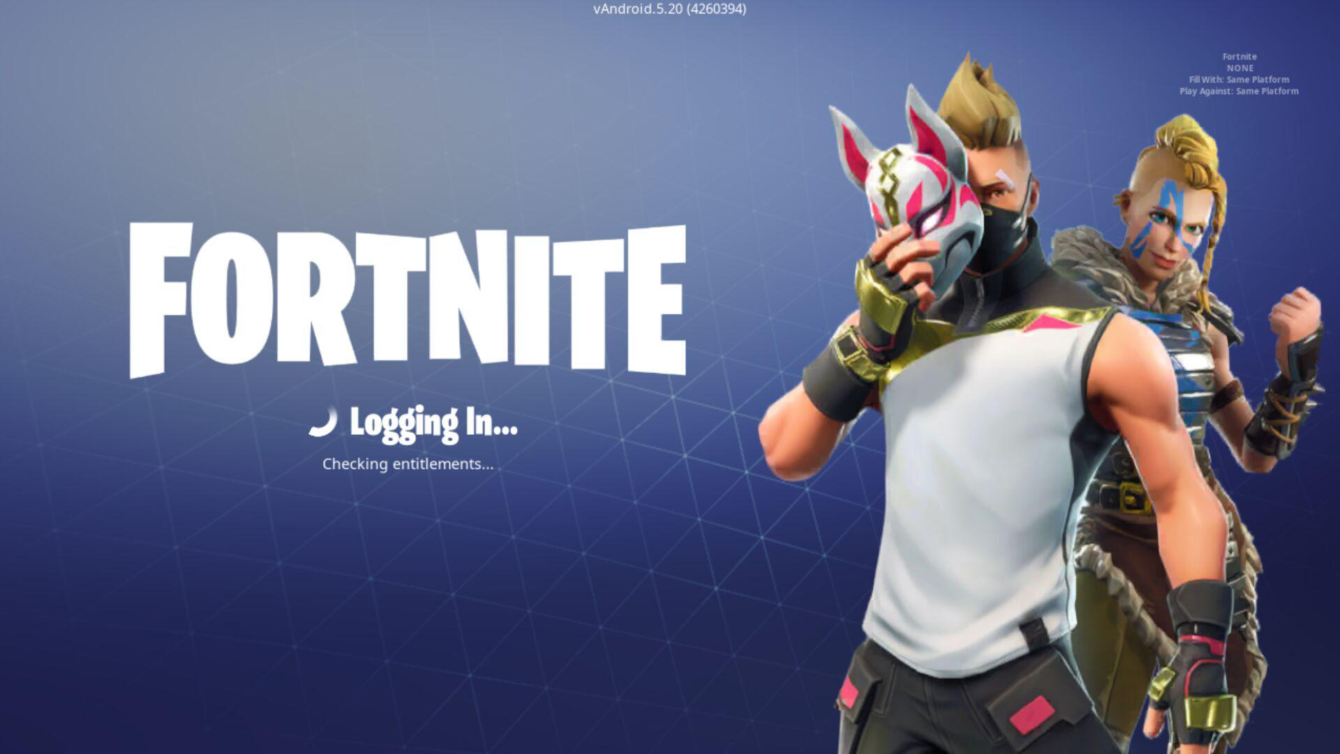 Fortnite 6.02.0-4440378-Android Screen 3