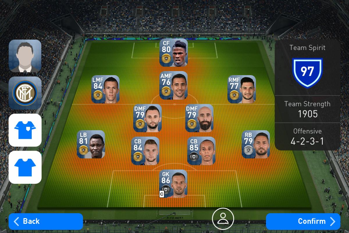 Android PES2017 -PRO EVOLUTION SOCCER- Screen 19