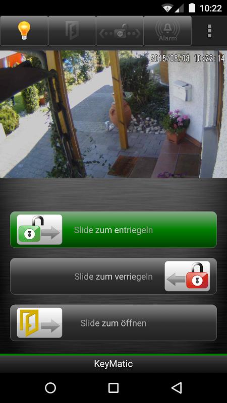 HomeKey 1.72 Screen 1