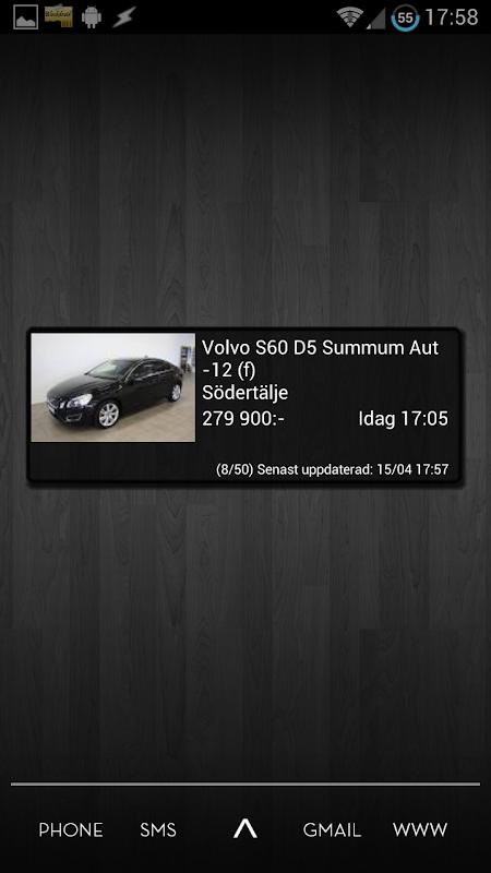Sök & bevaka blocket annonser med Blockdroid 3.28 Screen 4
