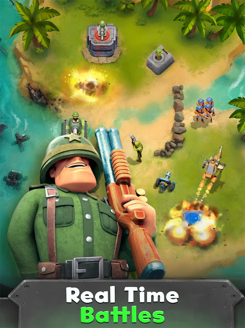 Android War Heroes: Fun Action for Free Screen 1