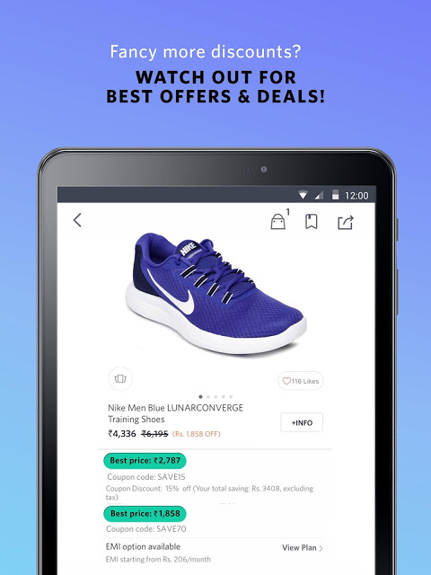 Android Myntra Online Shopping App Screen 14