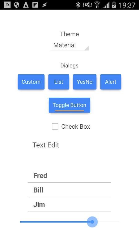 DroidScript - JavaScript Mobile Coding IDE 1.68 Screen 7