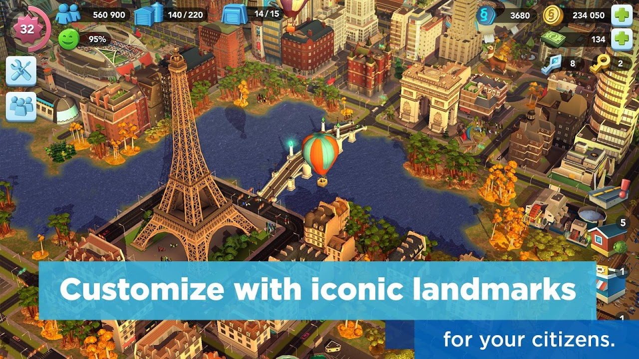 Android SimCity BuildIt Screen 2