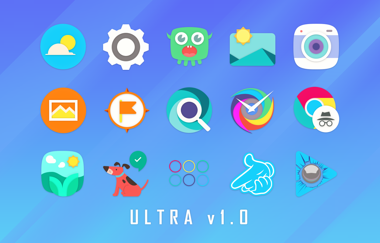 Android Ultra Icon Pack Screen 13