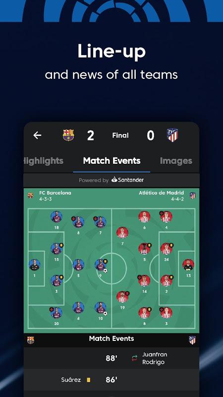 La Liga - Spanish Football League Official 7.3.8 Screen 9