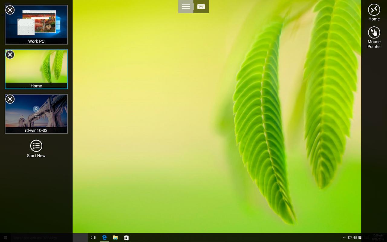 Microsoft Remote Desktop 8.1.56.294 Screen 2