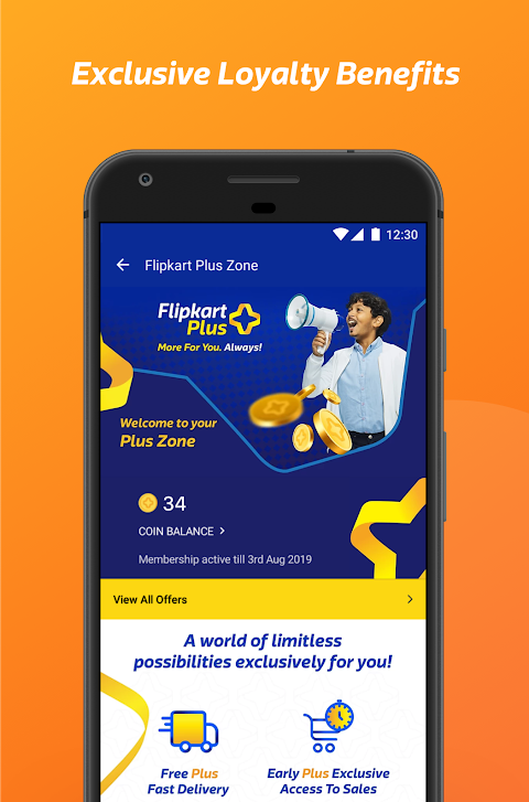 Flipkart Online Shopping App 6.10 Screen 1