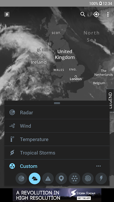 Storm Radar: Weather Map 1.6.2 Screen 2