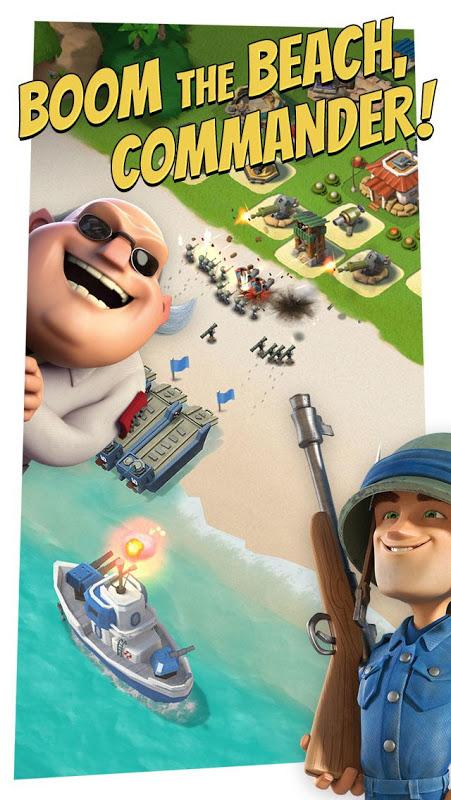Android Boom Beach Screen 1