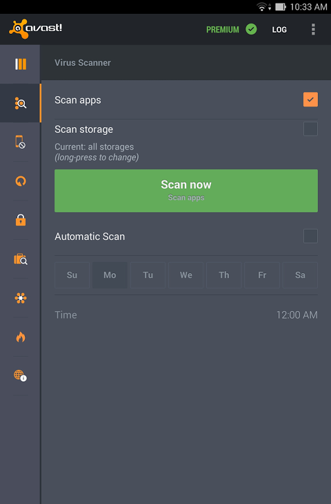Android Avast Mobile Security Screen 11