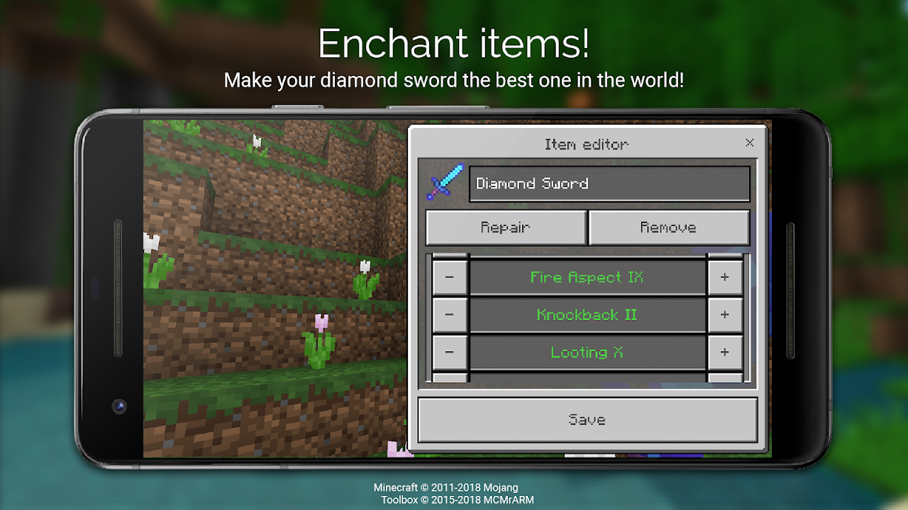 Android Toolbox for Minecraft: PE Screen 4