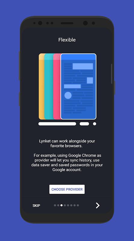 Lynket Browser (previously Chromer) 2.0.2 Screen 2