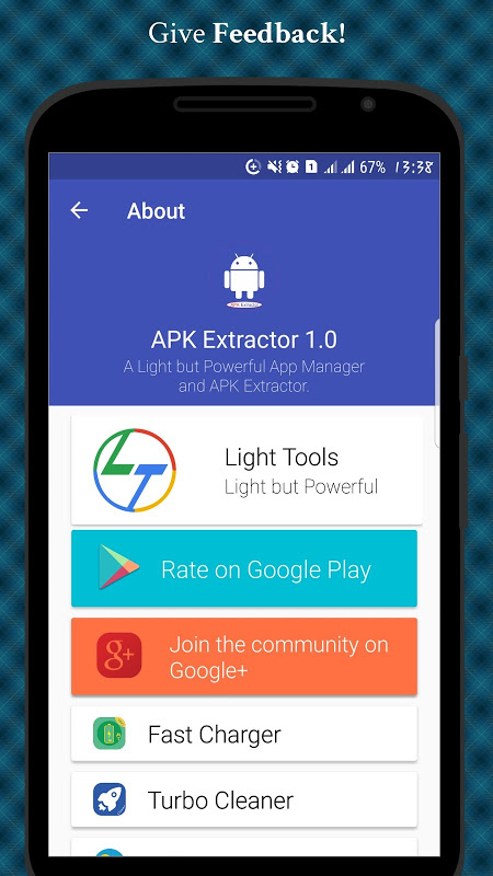 Android APK Extractor - APP Backup Screen 7