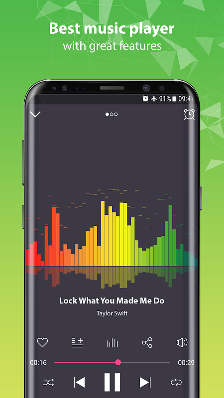 music player 3.1 Screen 2