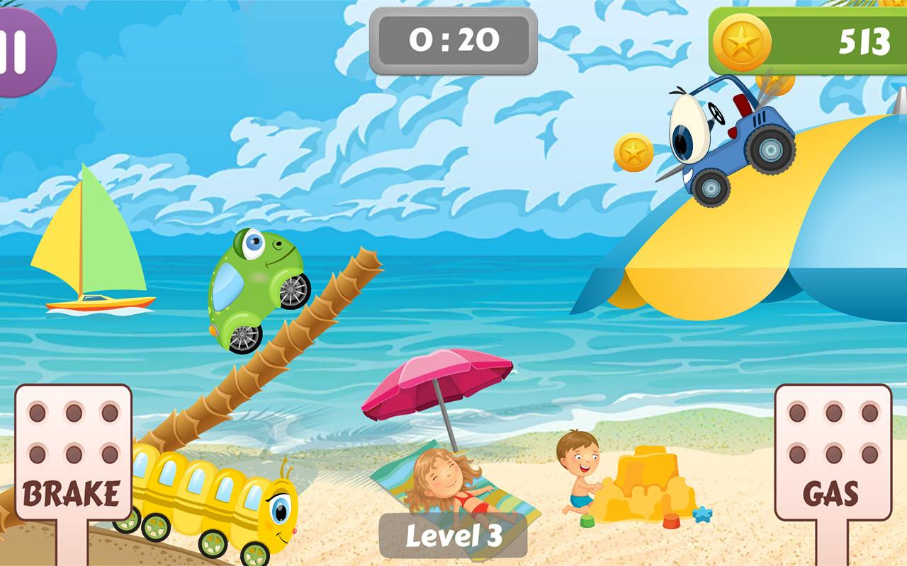 Beepzz Hill - racing game for kids 1.0.5 Screen 3