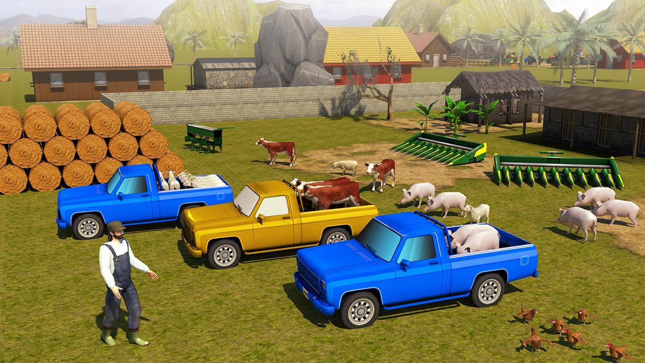 Android Farming Simulator 2018 - Farm Games Screen 5