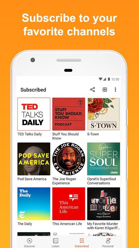 Castbox - Free Podcast & Audio 7.45.1-181206168 Screen 3