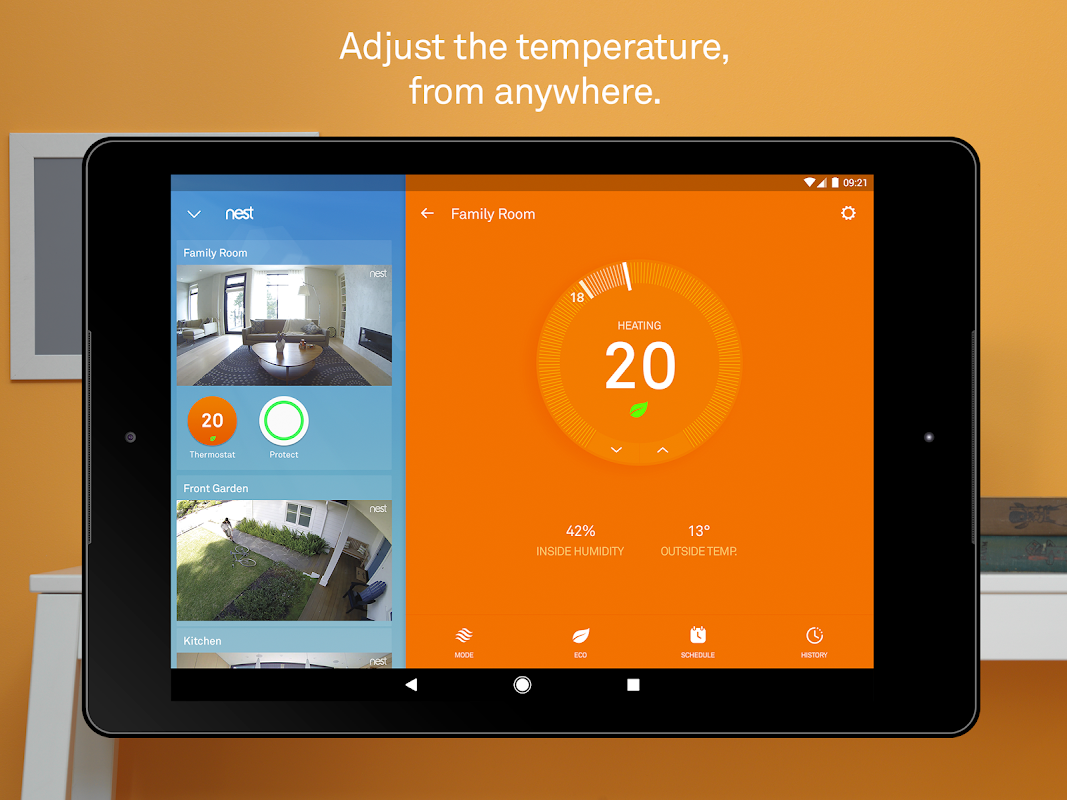 Android Nest Screen 5