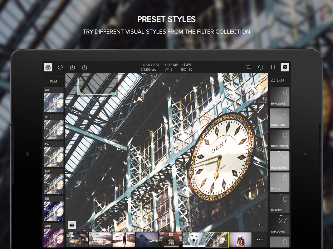 Polarr Photo Editor 2.1.2 Screen 1